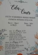 Düğün - Eda GÖKÇE & Ömer YILMAZ (24.11.2019)