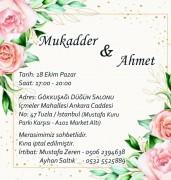 Düğün - Mukadder ZEREN & Ahmet SALTIK (18.10.2020)