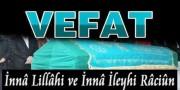 Vefat - Fadime YILMAZ (11.09.2021)